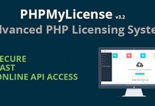 اسکریپت ایجاد لایسنس برای PHP با PHPMyLicense نسخه ۳٫۲