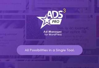 افزونه مدیریت تبلیغ حرفه ای ADS PRO نسخه ۳٫۳٫۰ برای وردپرس