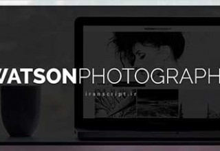 دانلود قالب عکاسی Watson نسخه ۱٫۴٫۰ برای وردپرس