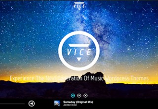 دانلود پوسته موزیک Vice برای وردپرس