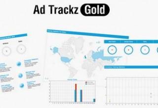 اسکریپت کسب درآمد از بازدیدکننده Ad Trackz Gold