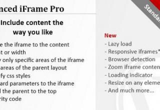 افزونه آی فریم پیشرفته Advanced iFrame Pro برای وردپرس
