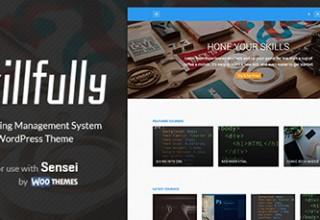 قالب آموزشگاهی SkillFully نسخه ۲٫۰٫۱ برای وردپرس