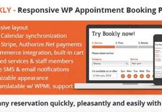 افزونه رزرواسیون و زمانبندی وردپرس Bookly نسخه ۱۰٫۵
