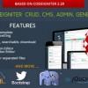 اسکریپت مدیریت محتوا Codeigniter