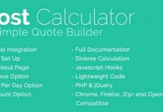 اسکریپت ماشین حساب محاسبه هزینه با درگاه پرداخت آنلاین