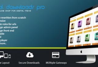 اسکریپت دانلود به ازای پرداخت Digital Download Pro