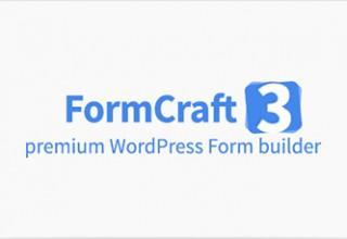 دانلود افزونه فرم ساز FormCraft نسخه ۳٫۲٫۲۳ برای وردپرس