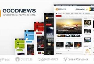 پوسته خبری GoodNews برای وردپرس