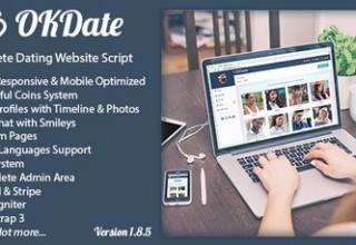 اسکریپت دوستیابی OKDate