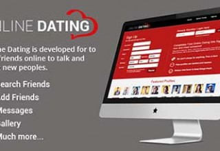اسکریپت شبکه اجتماعی Online Dating Script نسخه ۲٫۰