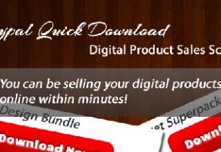 اسکریپت فروش محصولات دیجیتال توسط Paypal Quick نسخه ۱٫۲٫۰