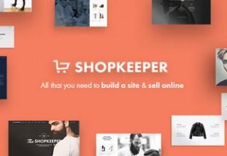 دانلود قالب فروشگاهی Shopkeeper برای ووکامرس