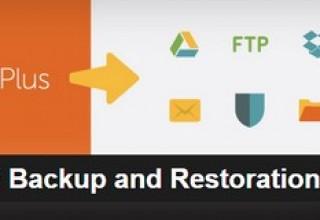 افزونه بکاپ گیری خودکار UpdraftPlus Backup and Restoration برای وردپرس