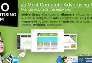 افزونه مدیریت تبلیغات WP PRO Advertising System برای وردپرس
