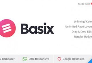 پوسته کسب و کار Basix نسخه ۲٫۰٫۱۳ برای وردپرس