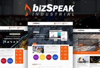 دانلود پوسته کسب و کار BizSpeak جوملا