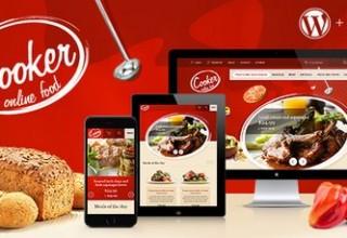 دانلود قالب رستوران و فست فود Cooker برای وردپرس