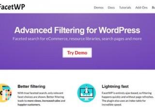 افزونه فیلتر پیشرفته FacetWP برای وردپرس
