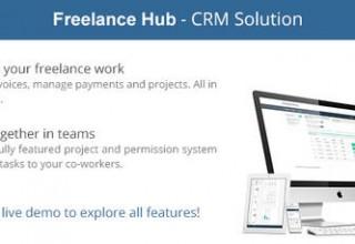 اسکریپت مدیریت پروژه و ارتباط با مشتری FreelanceHub