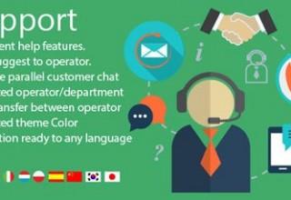 افزونه چت و گفتگوی آنلاین با مشتریان iSupport برای وردپرس