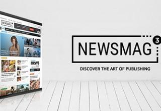 قالب مجله خبری Newsmag نسخه ۳٫۲ برای وردپرس