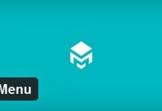 افزونه ساخت منوی بازشونده Max Mega Menu برای وردپرس