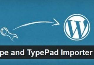 افزونه انتقال محتوای سایت Movable Type and TypePad Importer برای وردپرس