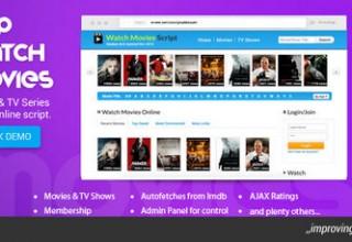 اسکریپت اسکریپت دانلود و تماشای فیلم PHP Watch Movies نسخه ۲٫۶
