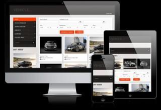 پوسته فروشگاه اتومبیل آنلاین Vehicle Park برای جوملا