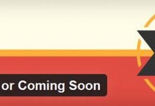 افزونه ایجاد صفحه به زودی Site Offline or Coming Soon