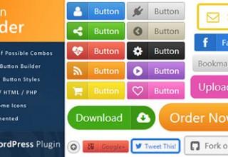 افزونه ساخت دکمه های حرفه ای Button Builder برای وردپرس