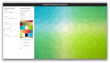 اسکریپت-ابزار-آنلاین-ایجاد-تصاویر-trianglify