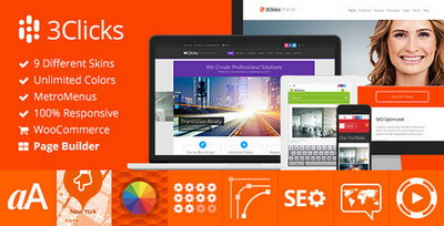 3clicks-v3-6-1-responsive-multi-purpose-wordpress-theme