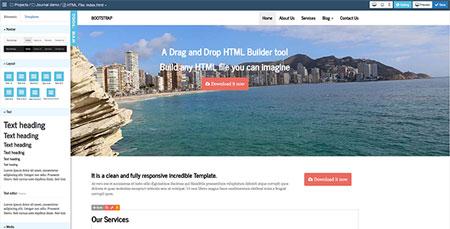 Bootstrap-HTML-Builder