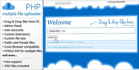 PHP-Multiple-File-Uploader