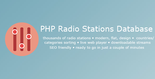 PHP-Radio-Stations-Database