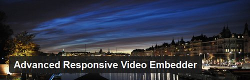 advanced-responsive-video-embedder