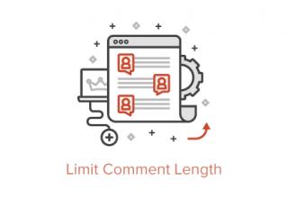 محدود کردن طول دیدگاه وردپرس یا تعداد کاراکتر نظر با افزونه و کد