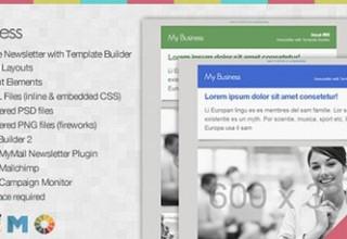 قالب HTML معرفی کسب و کار Business