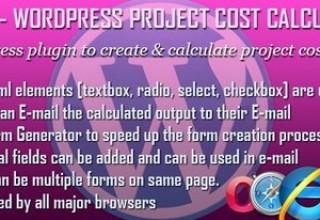افزونه محاسبه هزینه پروژها با WPCC برای وردپرس